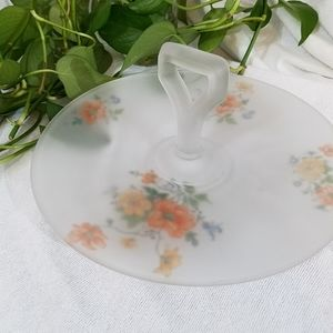 Vintage Platter with Handle